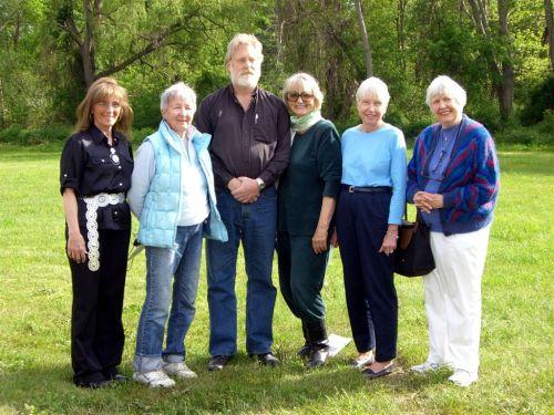 Audrey Fitting, Jane Muir, Richard Tietjen, Gwen Gunn, Margaret Iacobellis, Yvonne Scott